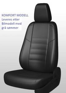 Bilde av Opel Combo Elite 2019-> Setetrekk i Skinn. 1+2